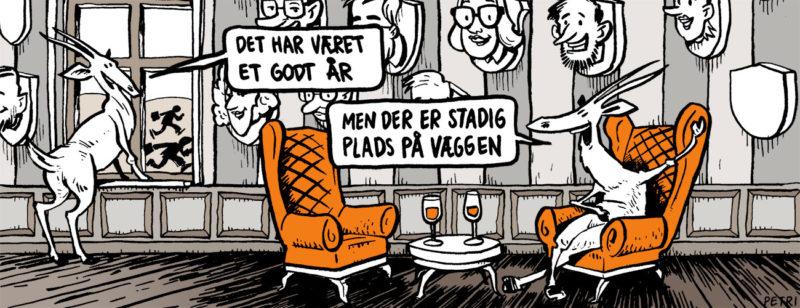 Gazelle 2015 - tegneserie af Erik Petri