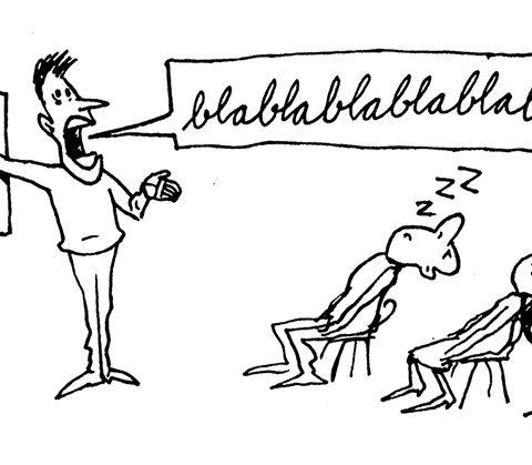 Kedelig tale